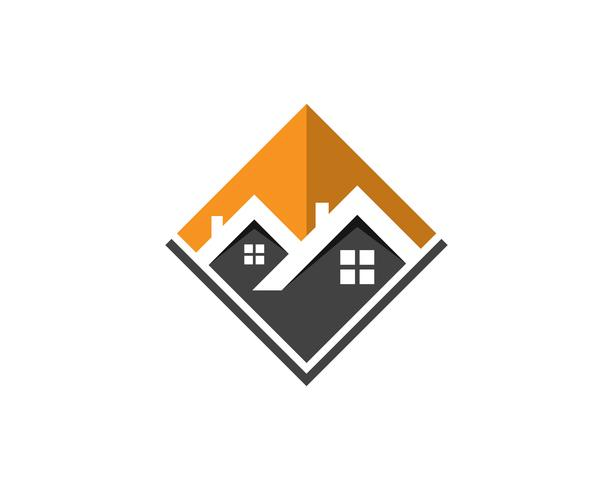 House home buildings logo icons template