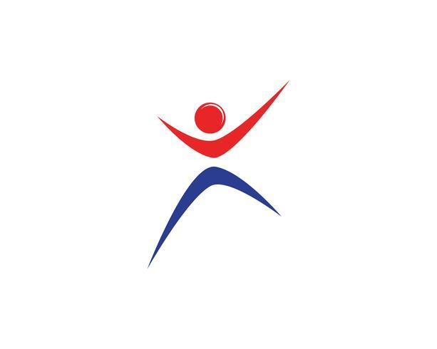 Geschäftserfolg Leute Logo und Symbole Vorlage