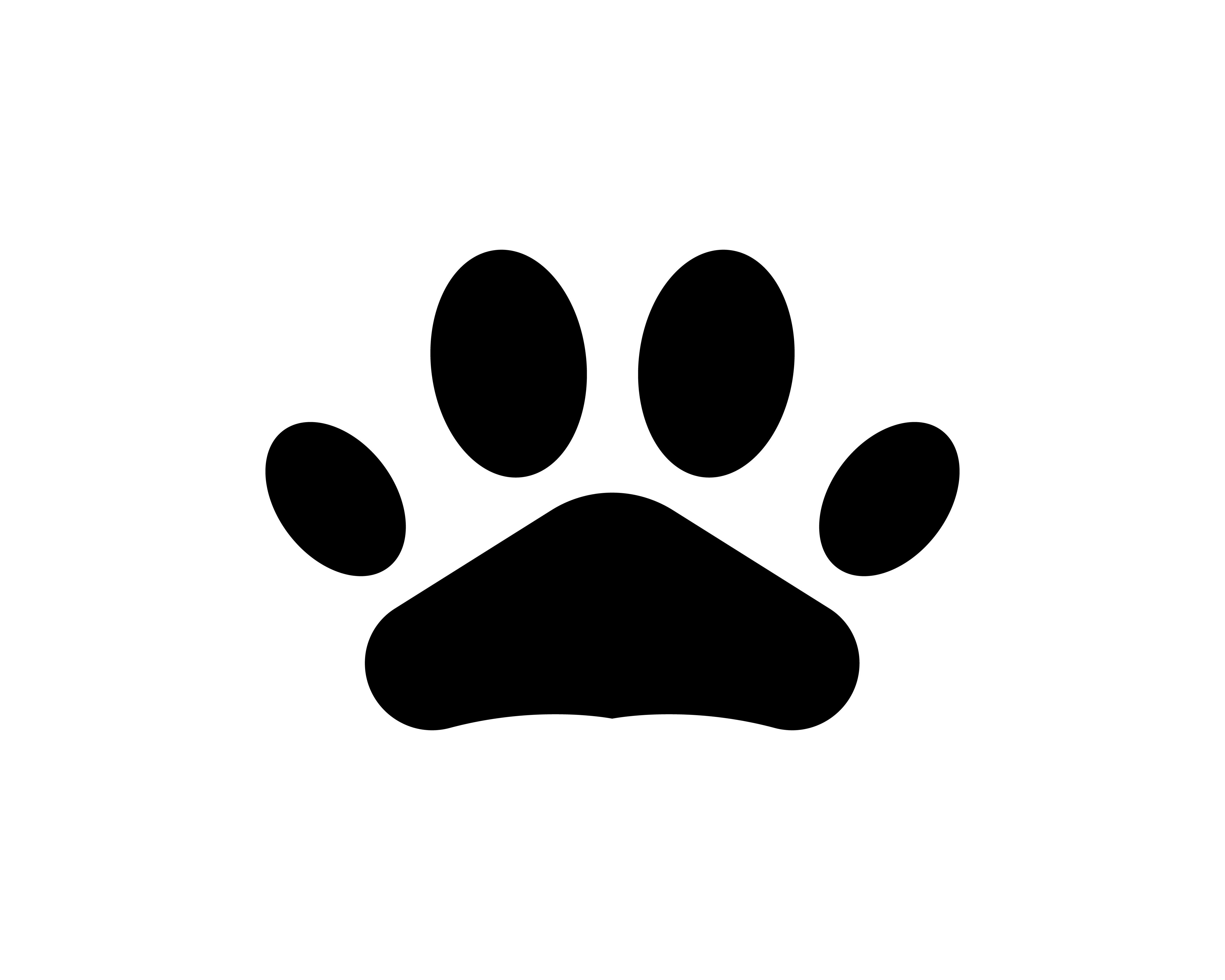 Foot print dog animal pet logo and symbols - Download Free ...