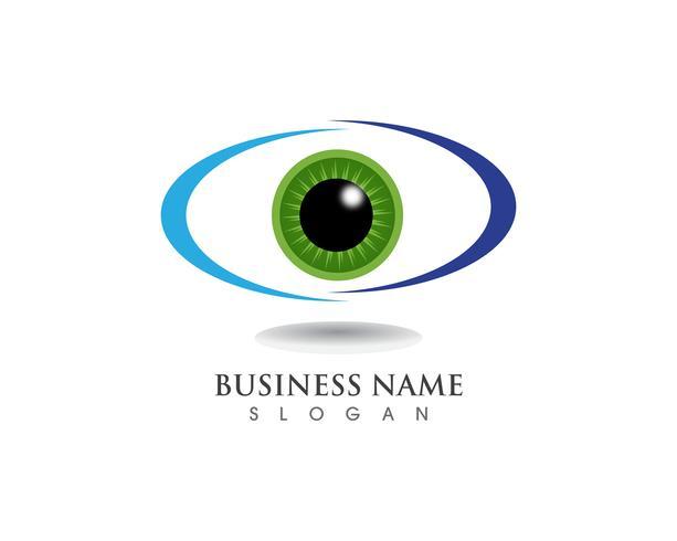 Oogzorg logo gezondheidssymbolen