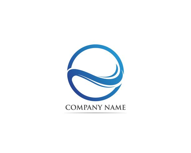 Wave-logo en symboolvectoren