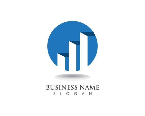 Finance logo et vecteur de symboles