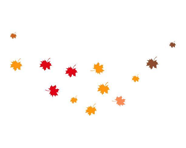 Herbst Blatt Vektor-Illustration