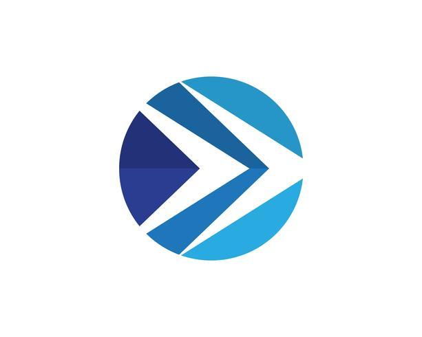 Schnelleres Logo Template-Vektorikonen-Illustrationsdesign