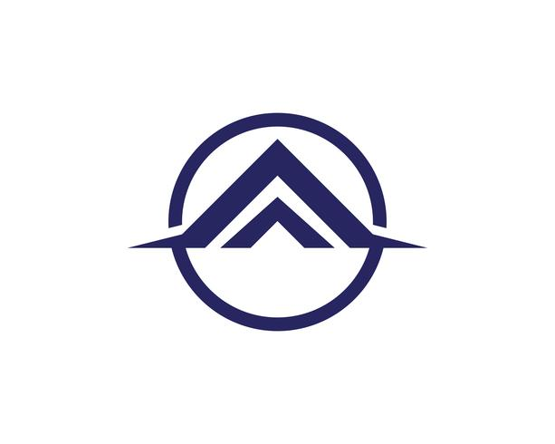 huisgebouwen logo symbolen pictogrammen sjabloon