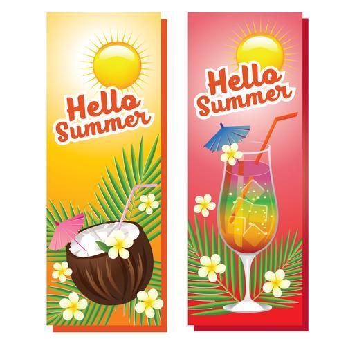 Hallo Sommer trinkt Banner