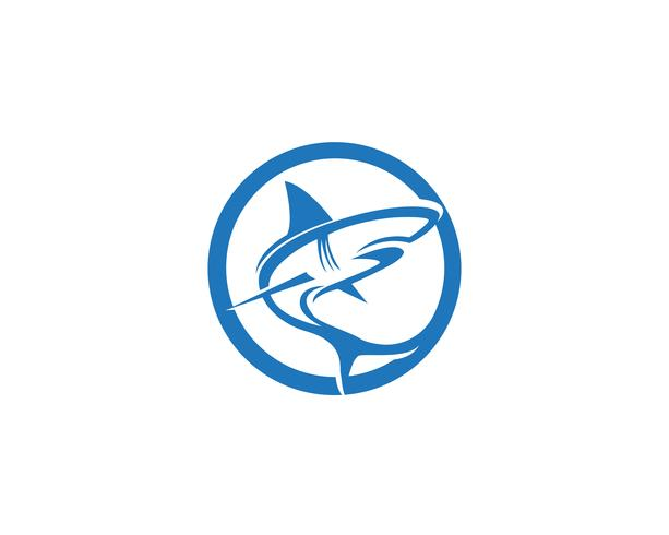 Shark fish animals logo and symbols vector - Download Free
