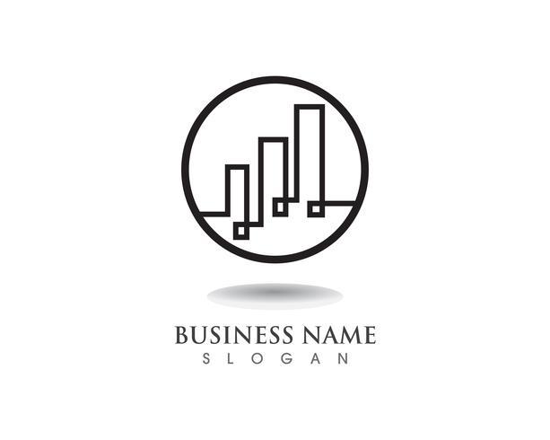 Financiën logo en symbool vector
