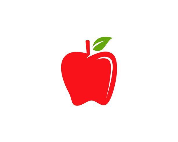 Ilustración vectorial de apple