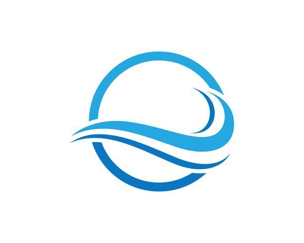 Wave Beach Logo Download Free Vectors Clipart Graphics Vector Art