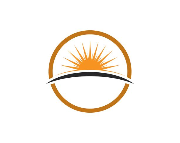 Sun generic logo and symbols