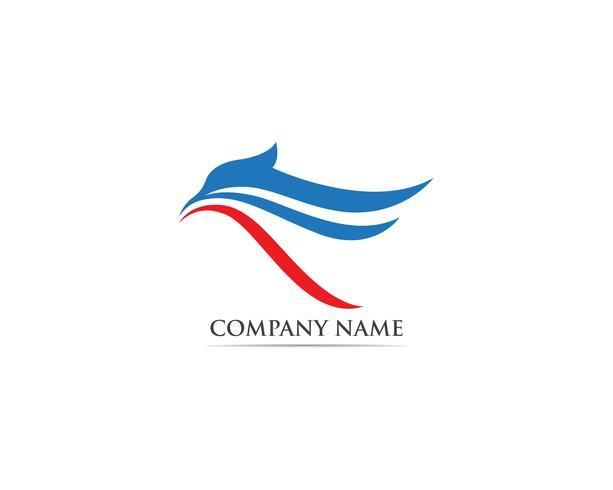 Adler Vogel Logo und Symbole