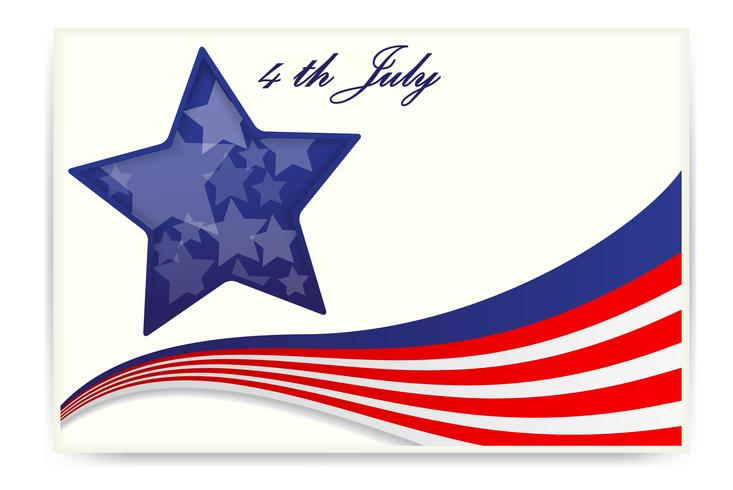 Unabhängigkeitstag der amerikanischen Flagge, Visitenkarten