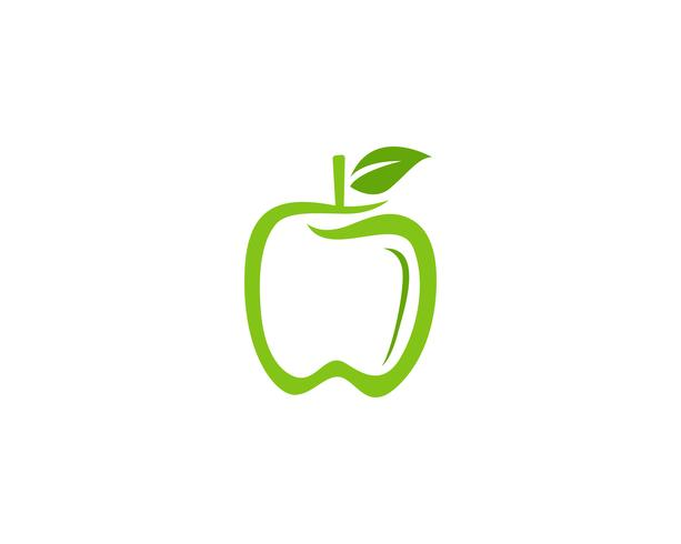 Apple-Vektor-Illustration