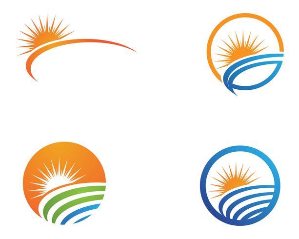Logo générique Sun et symboles