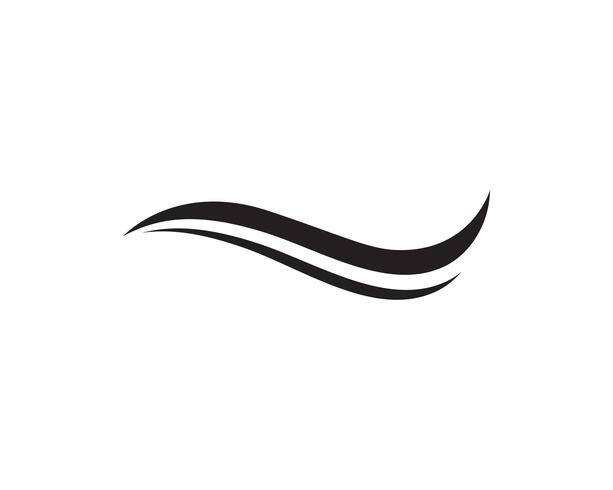 Icone del modello di logo e simboli della spiaggia di onde app