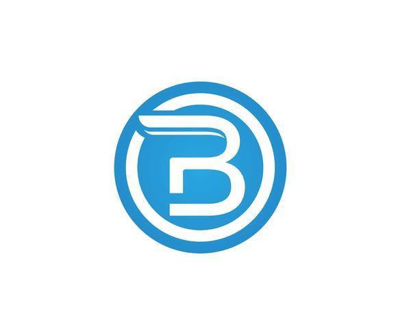 B Brief pictogram ontwerp vectorillustratie.