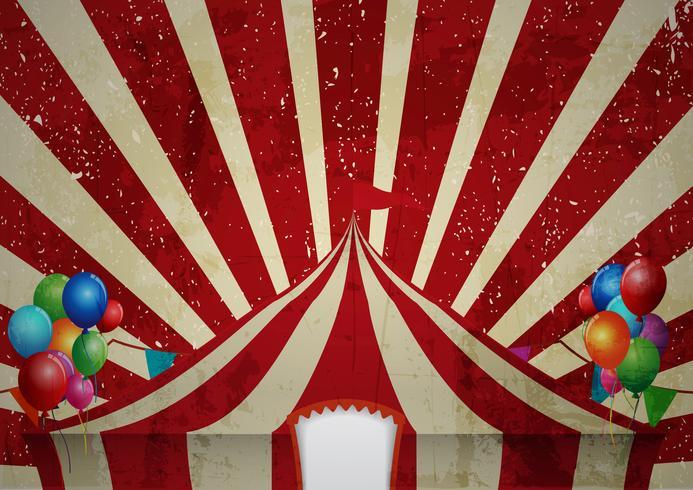 Célébration de la tente de cirque
