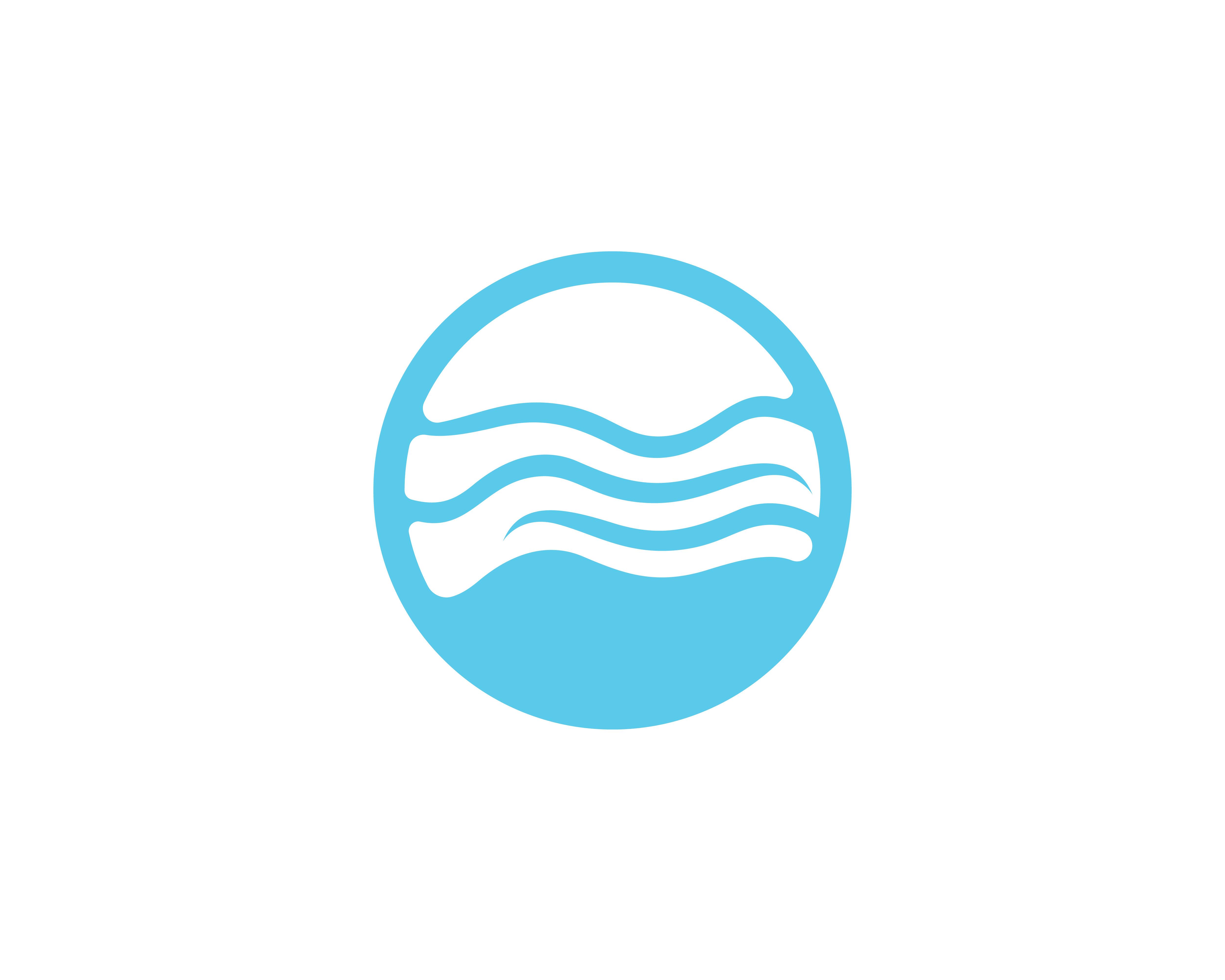 Wave Beach Logo And Symbols Vector Template Download Free Vectors Clipart Graphics Vector Art