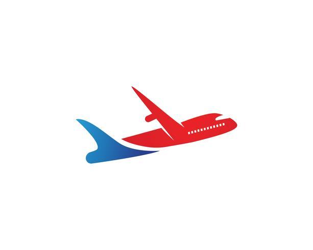 Aviones, avión, aerolínea con etiqueta de logotipo. Viaje, viaje en avión, símbolo de avión. Ilustración vectorial
