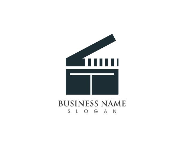 Film logo en symbolen vector sjabloon