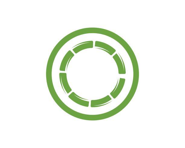 Bamboe met groen blad voor uw logo pictogram vector templat