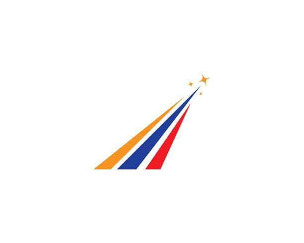 Snabbare logotypmall vektorikoner