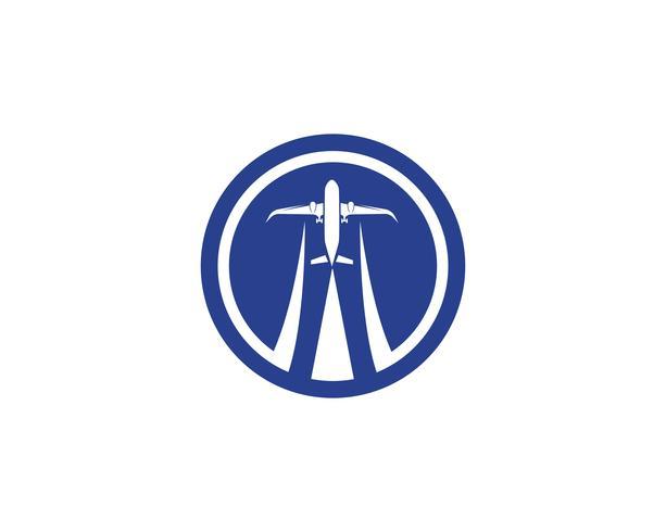 Avion, avion, étiquette du logo de la compagnie aérienne. Voyage, voyage aérien, symbole de l'avion de ligne. Illustration vectorielle