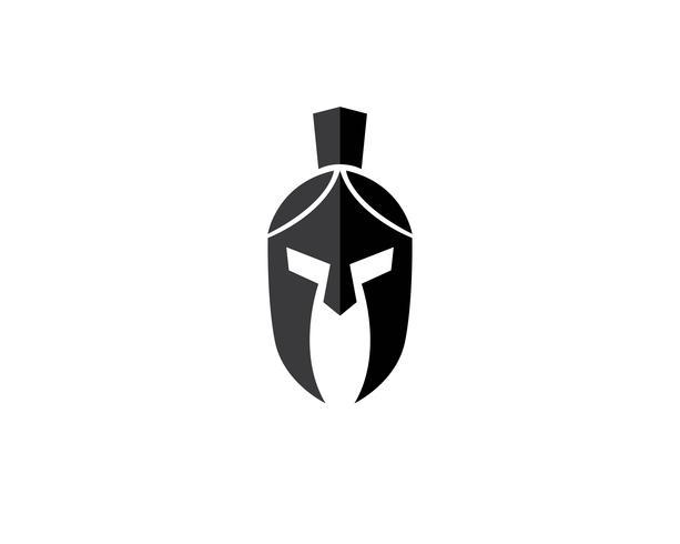 Spartan vector logo casco