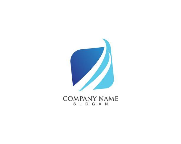 Modelos de vetor de logotipo de finanças