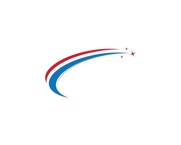 Schnellere Logo-Vorlage-Vektor-Icons