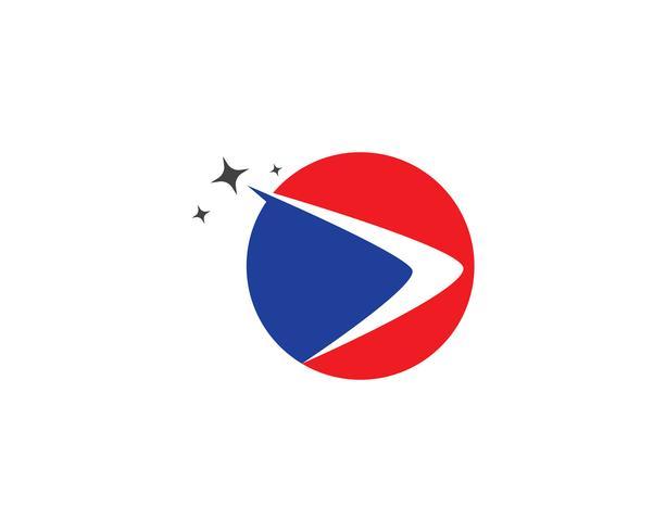 Snellere logo sjabloon vector iconen