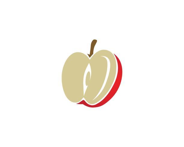 Ilustración vectorial de apple vector