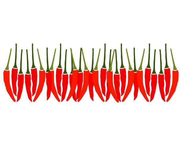 Logo e simbolo del modello di vettore di peperoncino