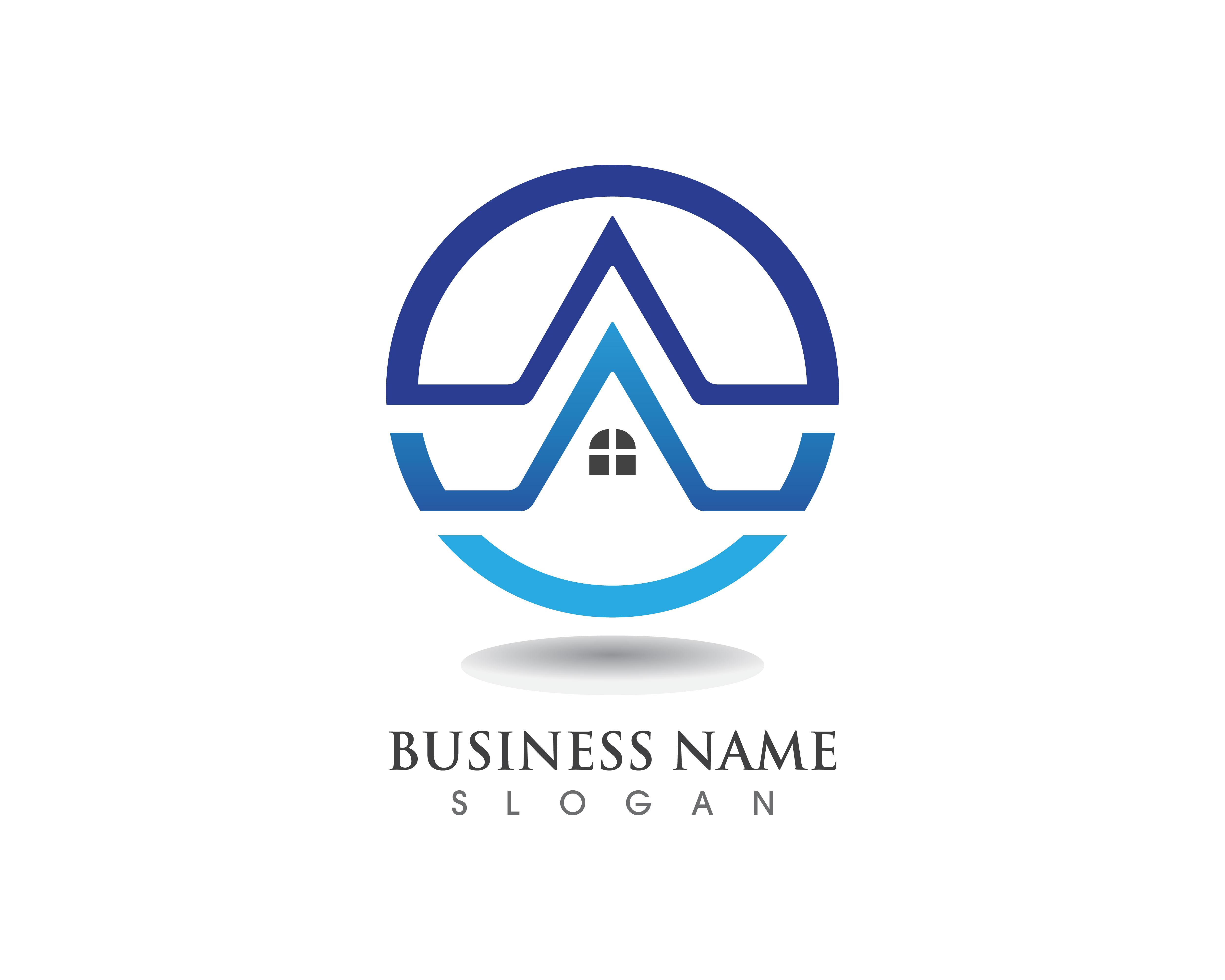 buildings logo and symbols icons template - Download Free Vectors, Clipart Graphics & Vector Art