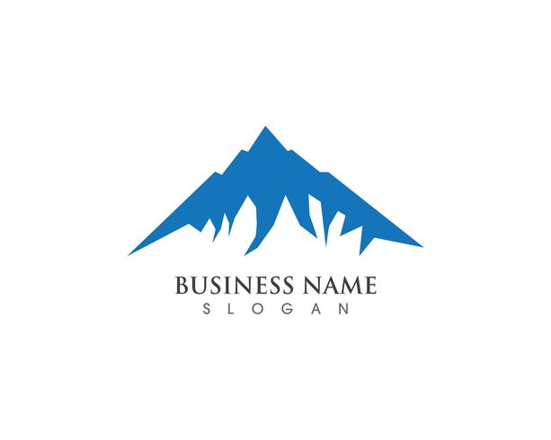 Mountain Logo and symbols  Business Template Vector
