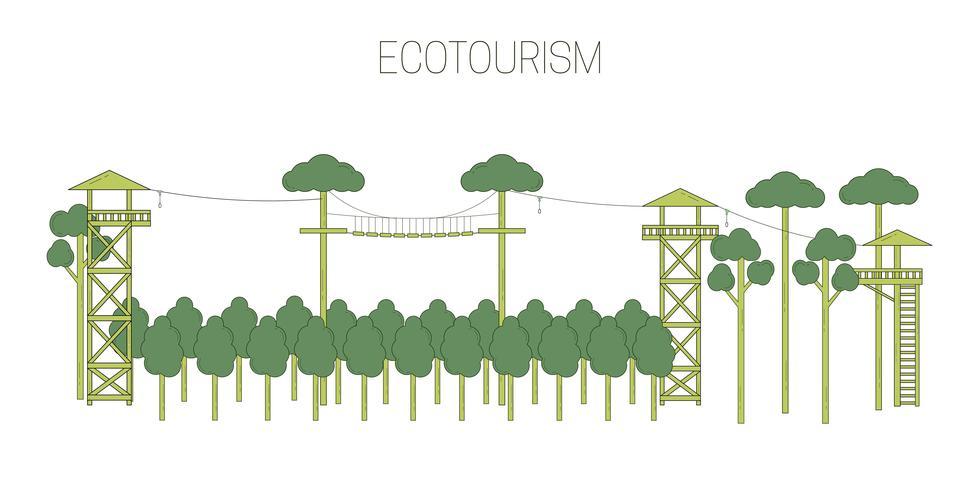 Illustration de l'écotourisme