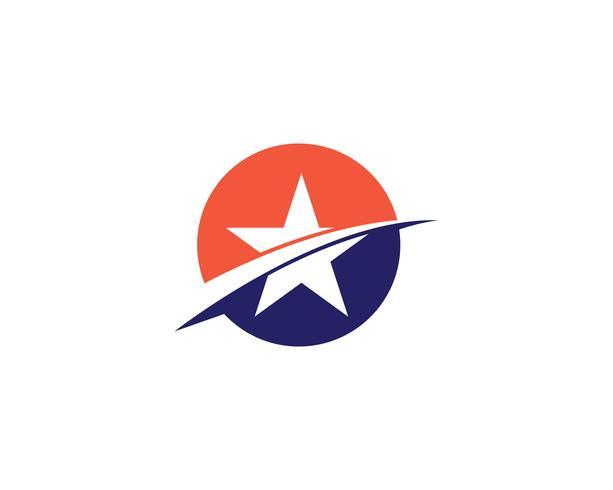 Sterne Logo Vorlage Vektoren