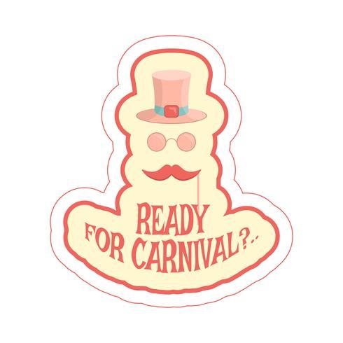 masques de carnaval vecteur