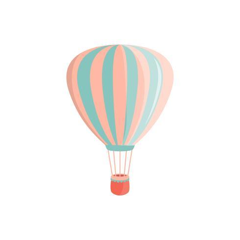 icona dell'aerostato di aria