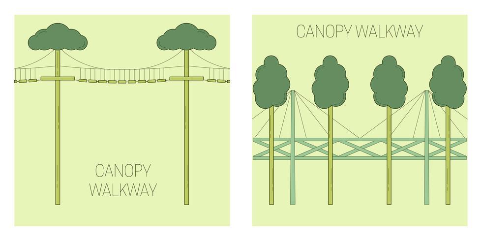 Canopy walk way.