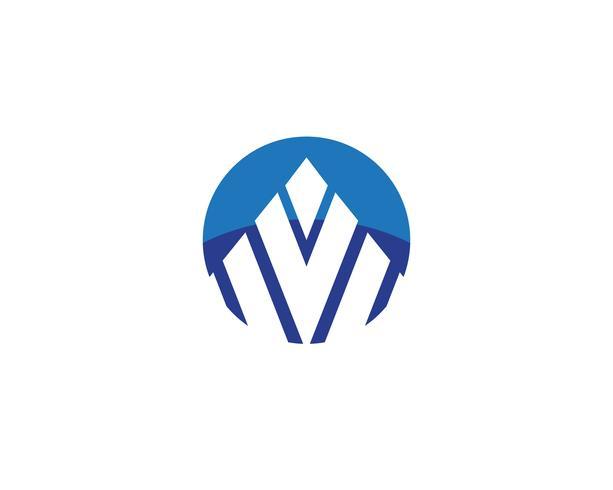 Finans logotyp vektor mallar