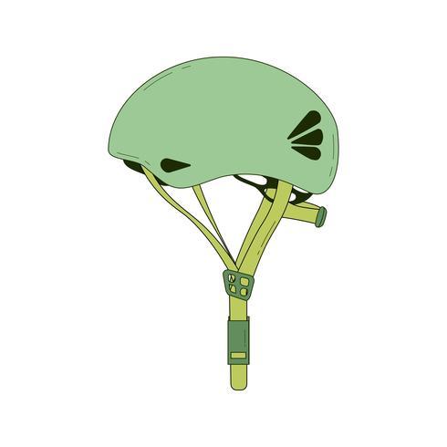 Ícone de capacete de escalada