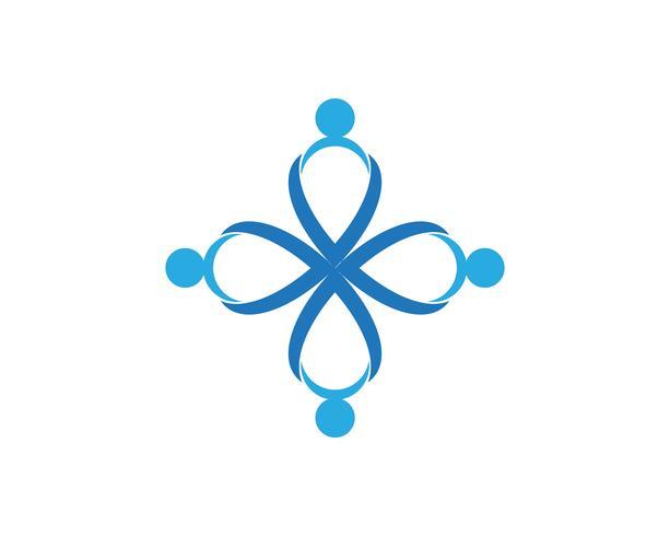 Modèle de logo de santé