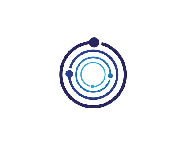 C cirkel logo en symbolen Vector