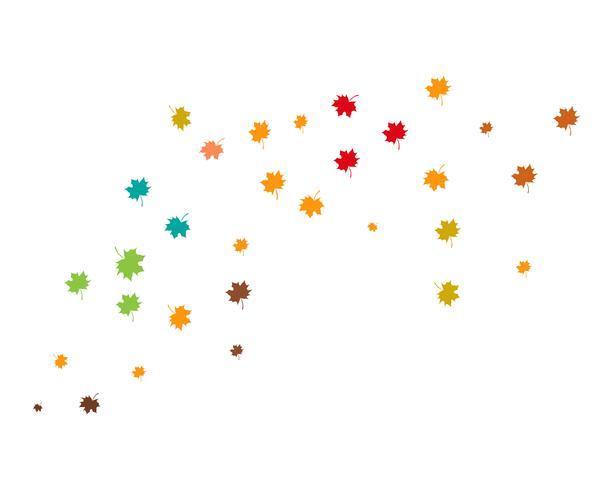 illustration vectorielle d'automne feuille