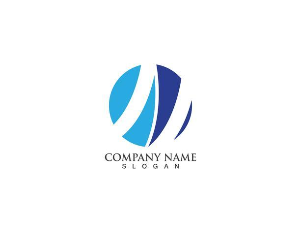 Financiën logo vector sjablonen