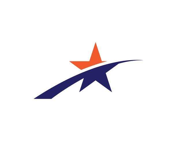 Vectores de plantillas de logotipo estrella