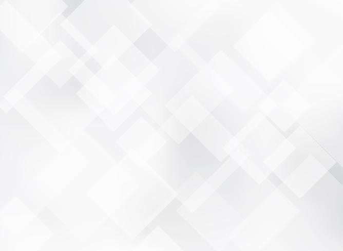 Textura elegante abstracta del fondo del modelo de las casillas blancas y grises. vector