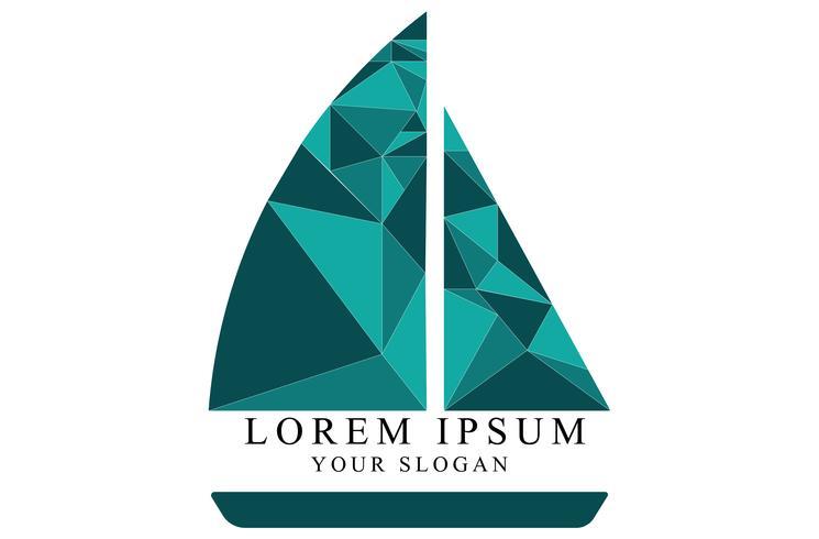 Un logotipo de barco